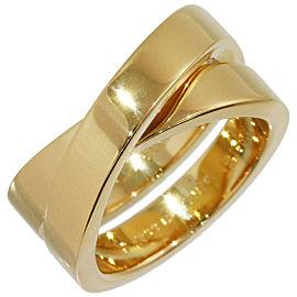 Cartier 18K YG Paris Ring Size 5