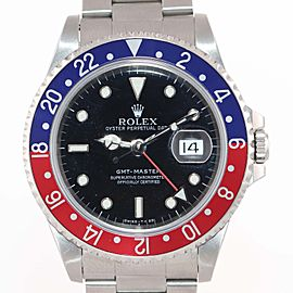 Rolex GMT-Master 'Pepsi' 16700 40mm Mens Watch