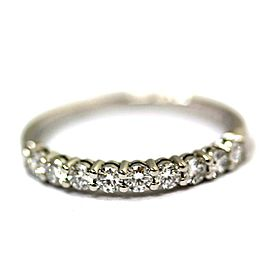 Tiffany & Co. Platinum Diamond Ring Size 3.25