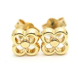 Louis Vuitton Gold Tone Earrings