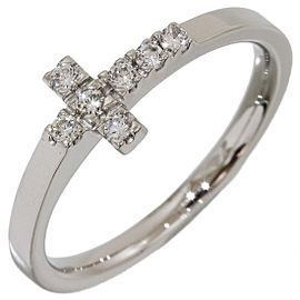 Platinum Diamond Ring Size 5.75