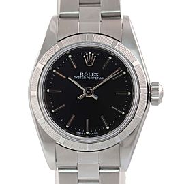 Rolex Oyster Perpetual 76030 24mm Womens Watch