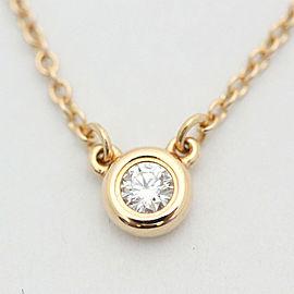 Tiffany & Co. 18K Rose Gold Diamond Necklace