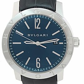 Bulgari Solotempo BB41S 42mm Mens Watch