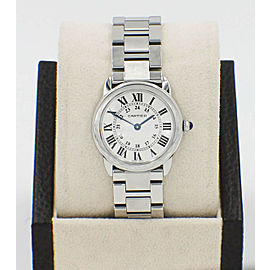 Cartier Ronde Solo 2933 W6701004 Stainless Steel 29mm with Papers