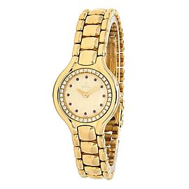 Ebel Beluga 18k Yellow Gold Quartz Ladies Watch 866940