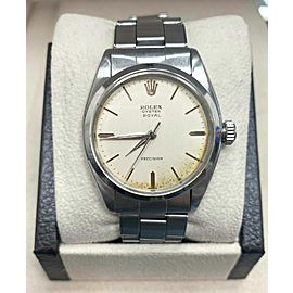 Vintage Rolex Oyster Royal Precision 6422 Stainless Steel Watch Original Polish