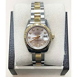 Rolex Ladies Datejust 179173 18K Yellow Gold & Steel