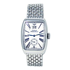 Dubey & Schaldenbrand Aerodyn Date Stainless Steel Automatic Men's Watch
