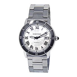Cartier Ronde Croisiere de Cartier Stainless Steel Automatic Mens Watch WSRN0010