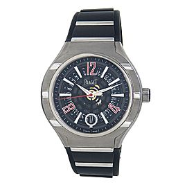 Piaget Polo Forty Five Stainless Steel & Titanium Automatic Men's Watch G0A35010