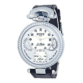 Bovet 19Thirty Fleurier Stainless Steel Manual Men's Watch NTS0010-SD12