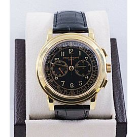 Patek Philippe 5070J 18K Yellow Gold Chronograph Box Papers UNPOLISHED RARE