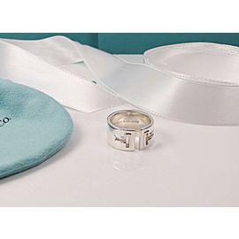 Tiffany & Co. Tiffany T Cutout Ring Silver Size 6- Retired