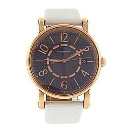 Chronoswiss Classic 18K Rose Gold Arabic Numerals Automatic Men's Watch CH 2821R