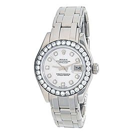 Rolex Masterpiece Datejust (D Serial) 18k White Gold Automatic Ladies 80299