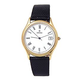 Concord Classic 18k Yellow Gold Swiss Quartz Men's Watch 58-78-214