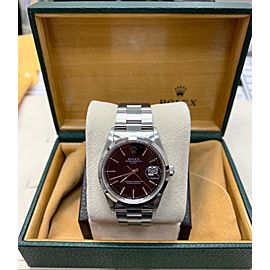 Rolex 15200 Date Black Dial Stainless Steel Box & Papers