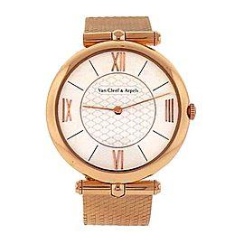 Lady 18k Rose Gold Van Cleef & Arpels Pierre Arpels VACRO4G000 Mechanical Watch