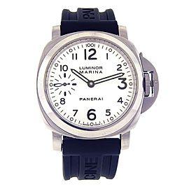 Panerai Historic Luminor Marina Stainless Steel Mechanical Men's Watch PAM00113