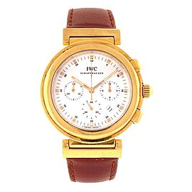 IWC Ingenieur 18k Yellow Gold Automatic Ladies Watch 3733