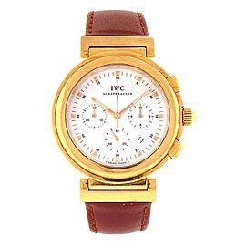 IWC Ingenieur 18k Yellow Gold Automatic Ladies Watch 3733