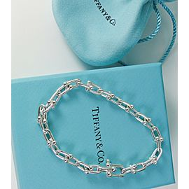 Tiffany & Co. Hardwear Medium Link Bracelet Size Large 8""