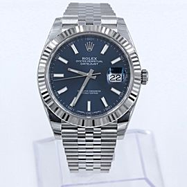 BRAND NEW Rolex 126334 Datejust II 41mm Stainless Steel 18K Box & Papers