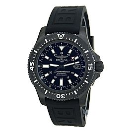 Breitling Superocean 44 Black Stainless Steel Automatic Men's Watch M17393