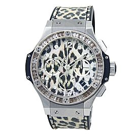 Hublot Big Bang Snow Leopard Stainless Steel Automatic Watch 341.SX.7717.NR.1977