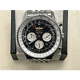 Breitling Navitimer AB0127 46mm Chronograph Black Dial Stainless Steel