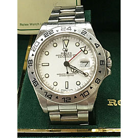 Rolex Explorer II 16550 White Dial Stainless
