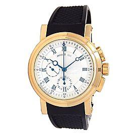Breguet Marine Chronograph 18k Yellow Gold Automatic Men's Watch 5827BA/12/5ZU