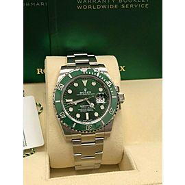 Rolex 116610 Green Submariner Hulk Stainless Steel