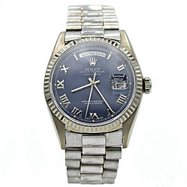 Men's Rolex Day Date 18k White Gold w/ Dial 18239