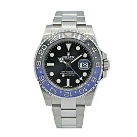 Rolex GMT-Master II Batman Stainless Steel w/ Black Dial 116710BLNR