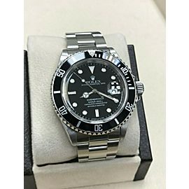 Rolex Submariner Date Black Dial 16610 Stainless Steel