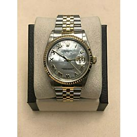 Rolex Datejust 16233 MOP Dial 18K Yellow Gold & Stainless