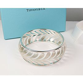 Tiffany & Co. Silver Villa Paloma Wide Palm Paloma Picasso Bangle Bracelet
