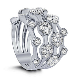 Cocktail ring with 1.50ct. of Total Diamond Weight