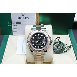 Rolex Yacht Master 116621 18K Rose Gold & Stainless