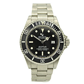 Mans Rolex Sea-Dweller w/ Black Dial 16600