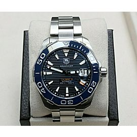 Tag Heuer Aquaracer Save Blue Dial WAY211C.BA0928 Stainless Steel