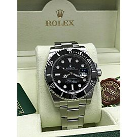 Rolex Submariner 116610 Black Ceramic Stainless Steel Box & Papers 2013