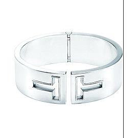 Tiffany & Co Tiffany T Cutout Hinged Cuff Bracelet- Size MED-RETIRED