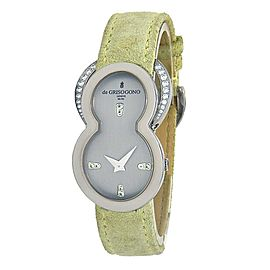De Grisogono Be Eight 18k White Gold Swiss Quartz Ladies Watch S51