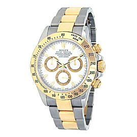 Rolex Daytona Z Serial 18k Yellow Gold & Stainless Steel Automatic Watch 116523