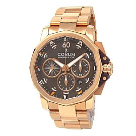 Corum Admiral's Cup 18k Rose Gold Men's Watch Automatic 60723.205005