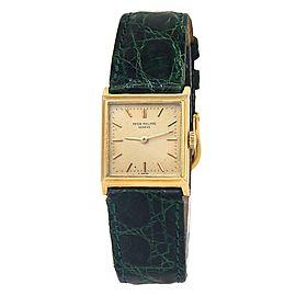 Patek Philippe Vintage 18k Yellow Gold Women's Watch Manual 3315