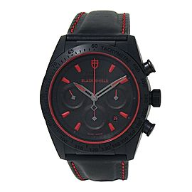 Tudor Fastrider Black Shield Ceramic Chronograph Auto Black Men's Watch 42000CR